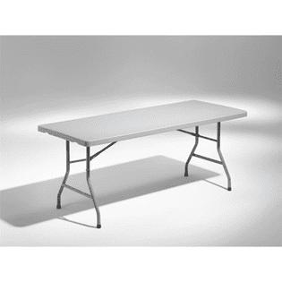 Rektangulärt bord för sex personer är ett exempel av alla möbler