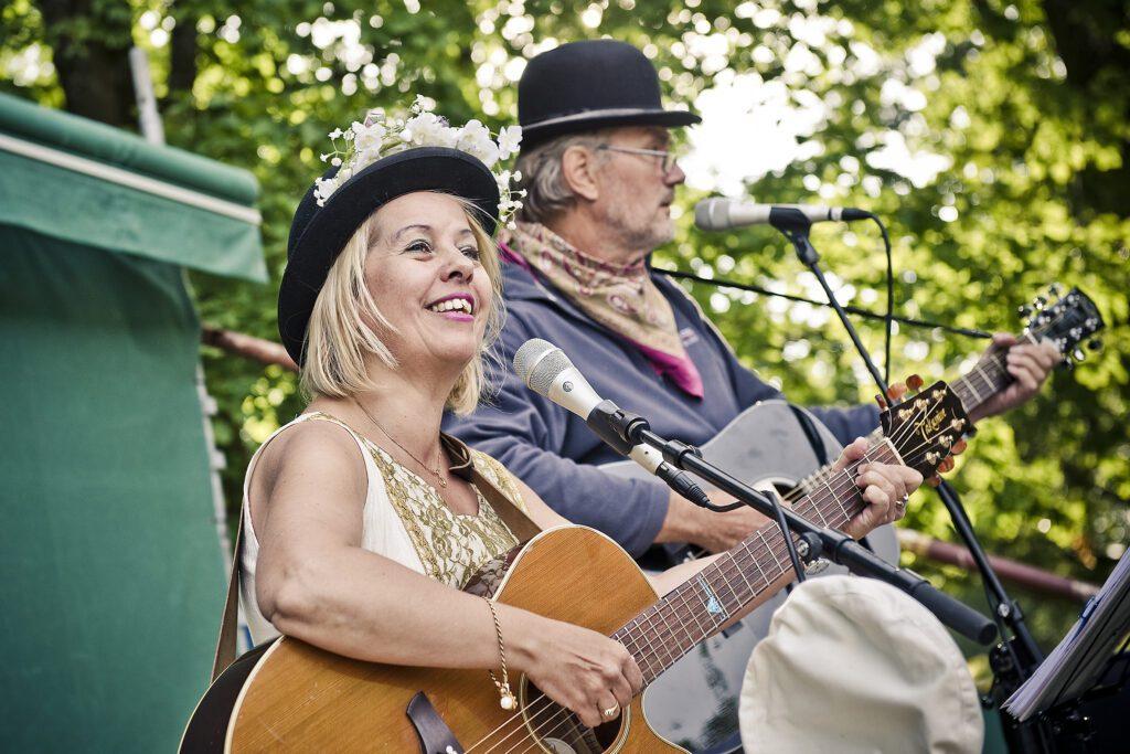 Harald Treutiger & IngMarie Dalin, artister